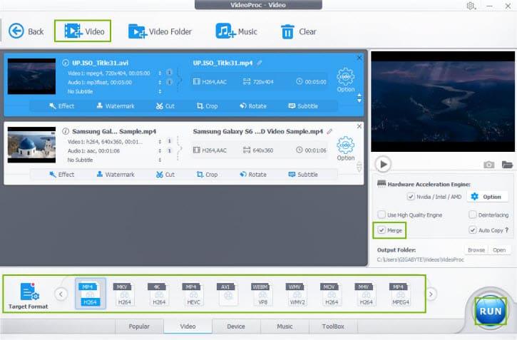 download VideoProc chỉnh sửa video 4K