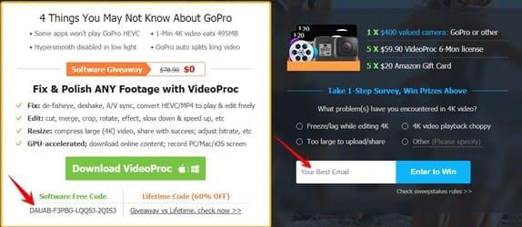 Giveaway] VideoProc - Phần mềm chỉnh sửa Video 4K chất lượng cao
