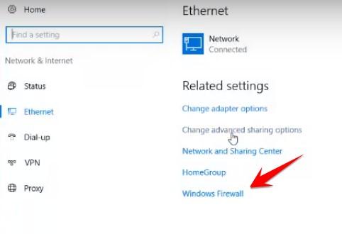 Windows Firewall VPS Windows 8GB azure