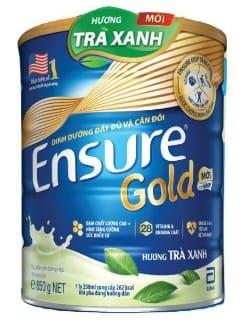 sữa Ensure Gold hương trà xanh