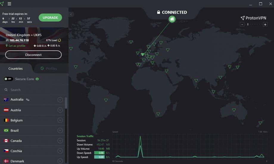 Sử dụng phần mềm VPN xem phim bị chặn
