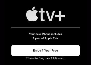 đăng ký apple tv+ 1 năm miễn phí